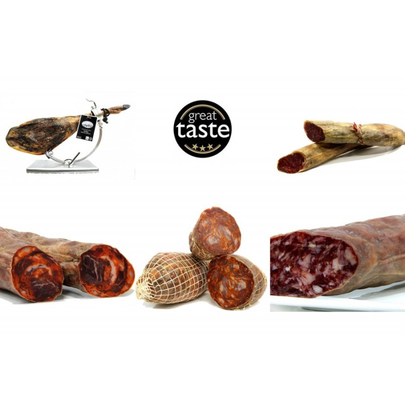 Lote Bellotares - Jamón de bellota y embutidos ibéricos - Sierra de Monesterio