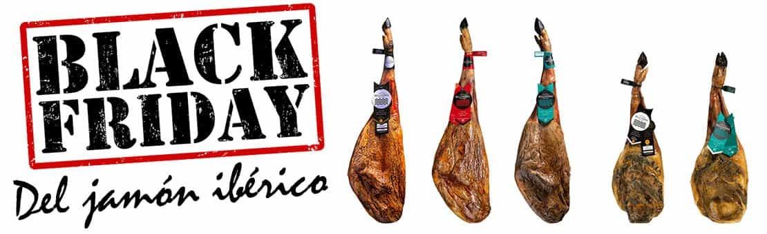 Black Friday Jamón ibérico de bellota